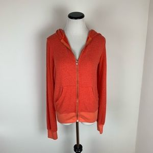 Wildfox NWT Zip Up Soft Hoodie